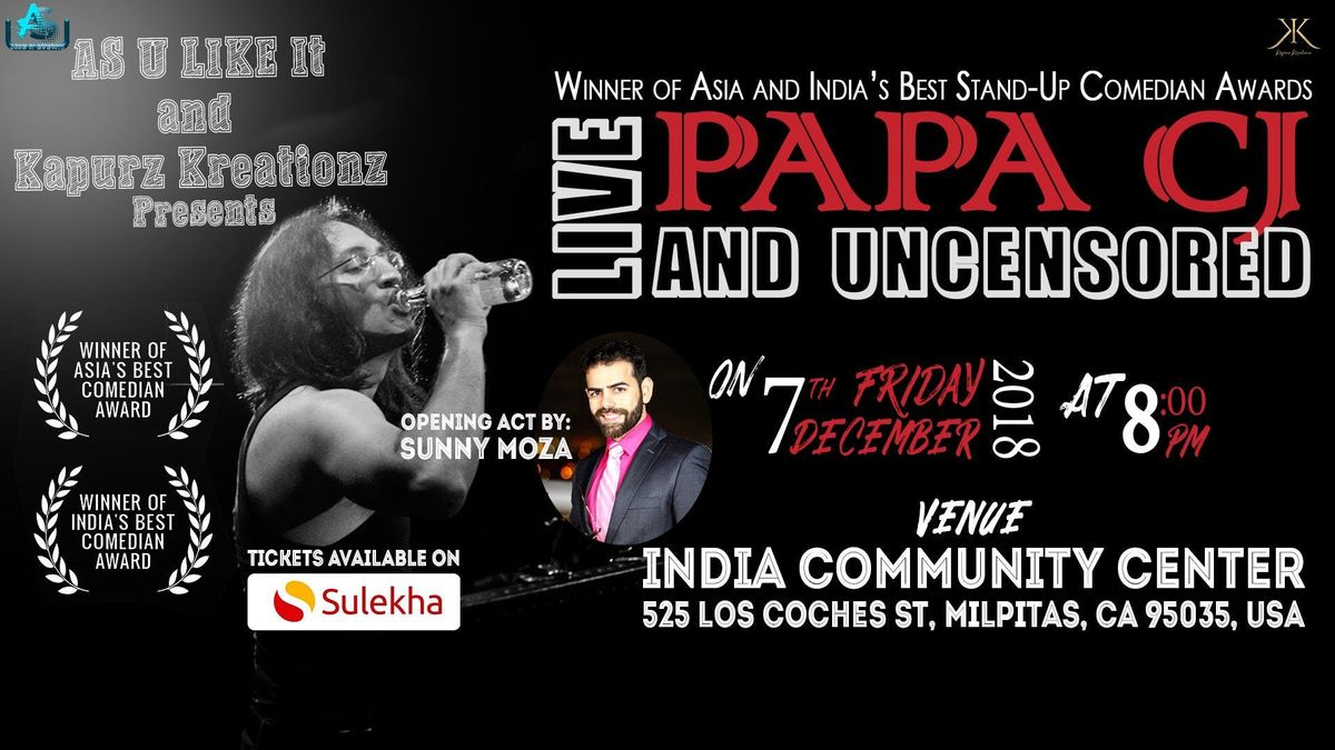 Papa CJ: Live and Uncensored (Stand-up Comedy) Live In Bay