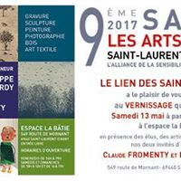Vernissage du 9me salon des Arts en Lien