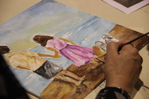 Acrylic Painting Workshop at 1500- ONLY