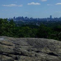 Hiking at Middlesex Fells Reservation