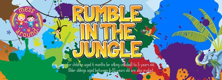 Messy Play Andover - Rumble in the Jungle