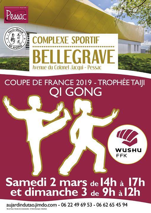 4 Coupe de France Qi Gong & Trophe Taiji