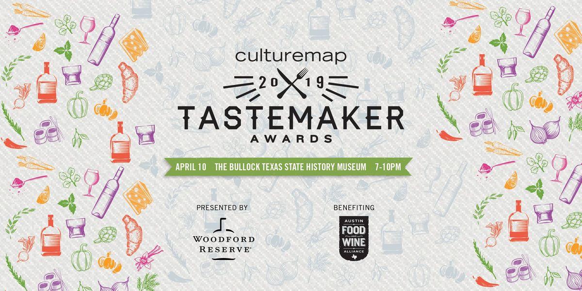 2019 CultureMap Austin Tastemaker Awards Presented by Woodford Reserve