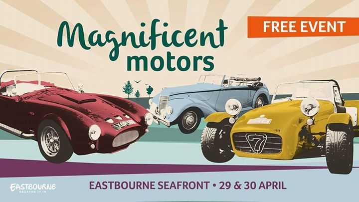 Magnificent Motors - Eastbourne @ Western Lawns | England | United Kingdom