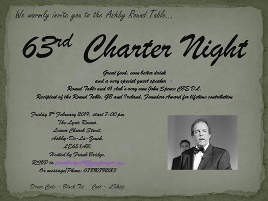 Charter at The Lyric Rooms, Ashby-de-la-Zouch