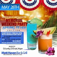 Memorial Day Weekend Spring Fever Edition
