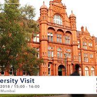 University of Salford visitng SI-UK Mumbai