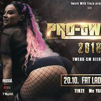 Pro Twerk Finland 2018 Fat Lady Tampere