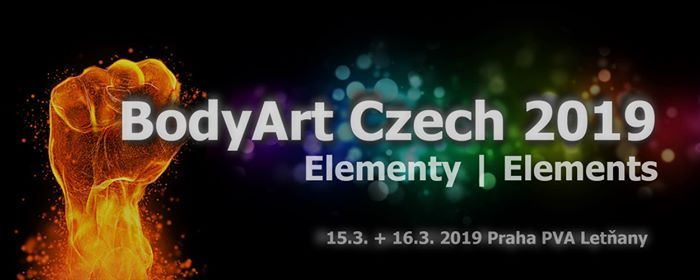 Bodyart Czech 2019 - Elementy