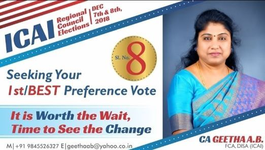Regional Council Election Of ICAI