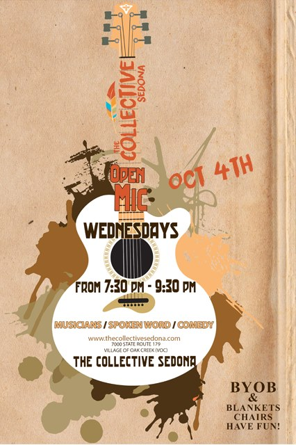 Open Mic Night at The Collective Sedona