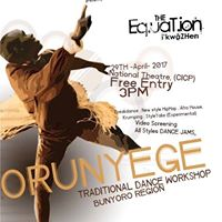 The Equation-Orunyege Traditional Dance Workshop