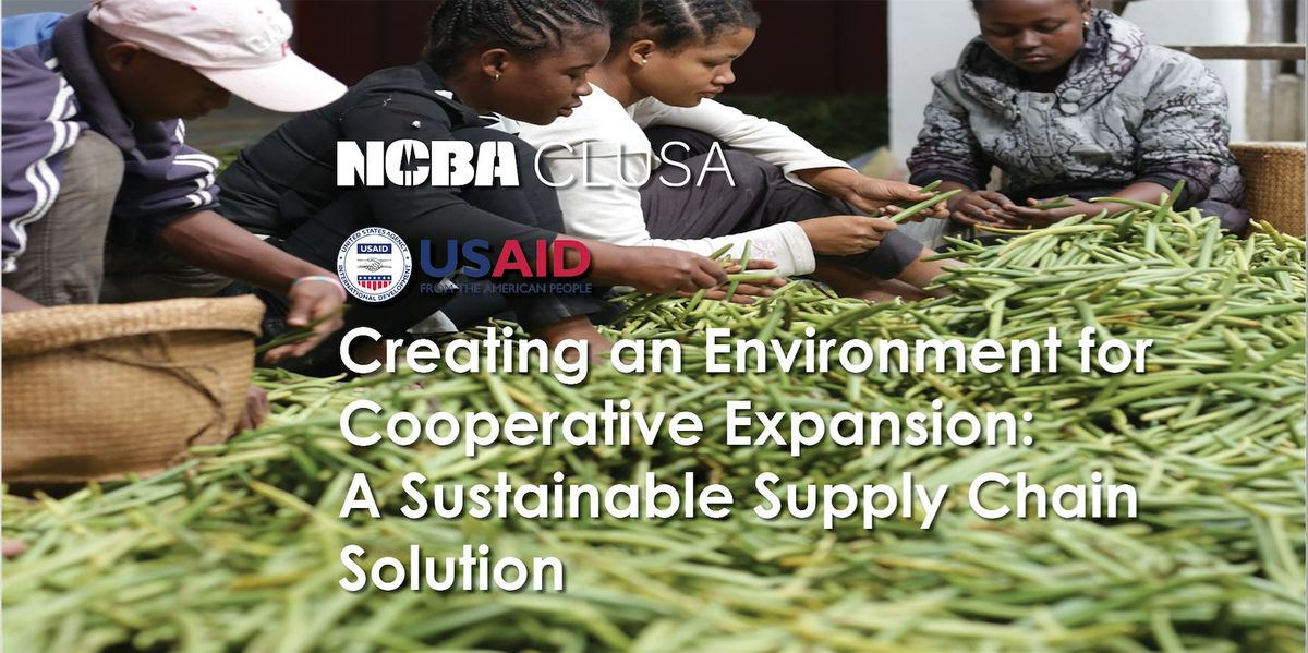 Launching the Cooperative Development Program - Sustainable Supply Chains