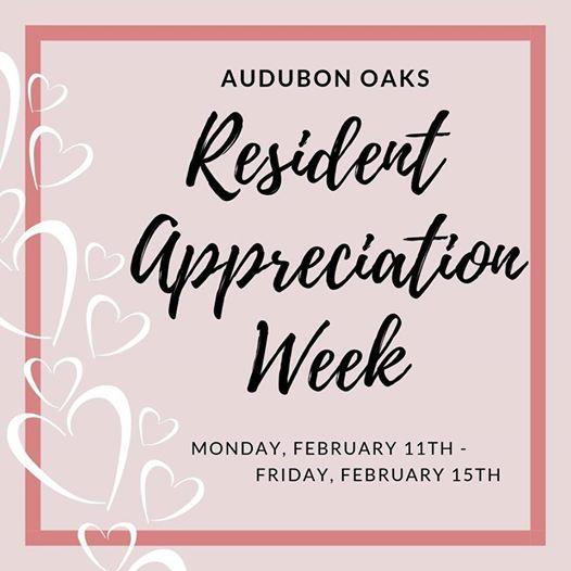 2019 Resident Appreciation Week