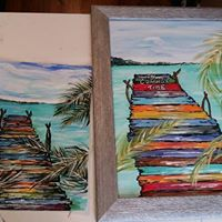 Altheas Dock Painting Class for Adults