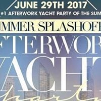 Summer SplashOff 7 is Back 1 After Work Yacht Party