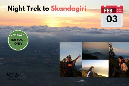 Night Trek to Skandagiri