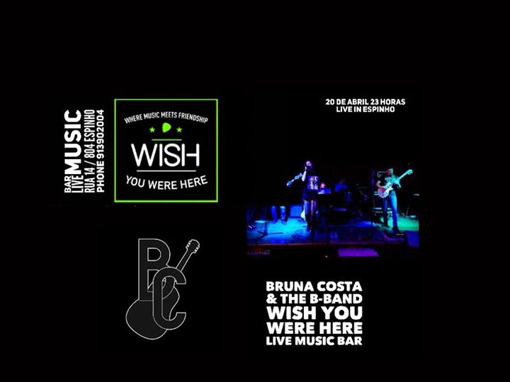 Bruna Costa & The B-Band at Wish You Were Here - Espinho