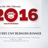 CLHS 1985 CNY Reunion Dinner        1985