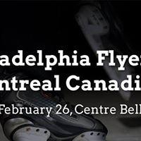 Philadelphia Flyers vs. Montreal Canadiens