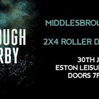 Middlesbrough Roller Derby vs 2x4 Roller Derby