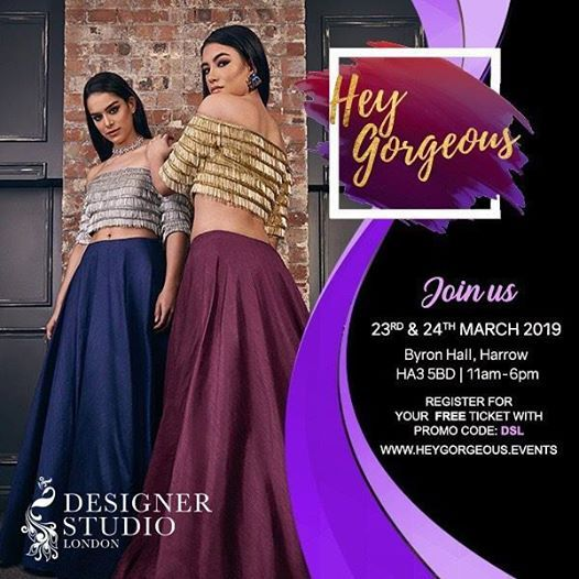 Discount code DSL Free tickets for Hey Gorgeous