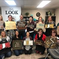 The Exchange Club of Hamilton County Wood Painting Fundraiser