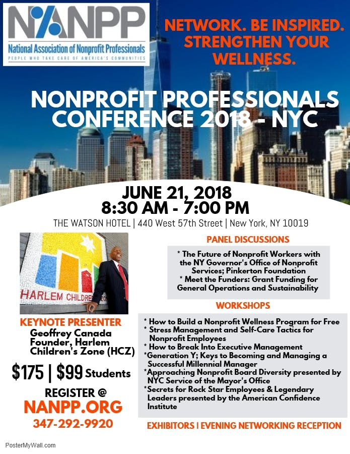 National Association of Nonprofit Professionals Annual Conference
