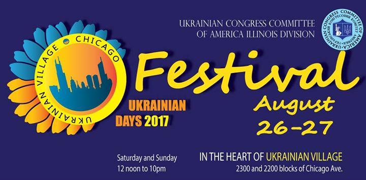 Ukrainian DAYS 2017 - on Chicago Ave. in Ukrainian Village