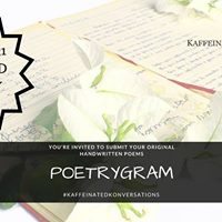Poetrygram  World Poetry Day