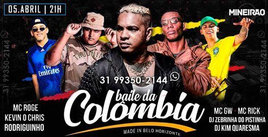 Baile da Colombia - Oficial