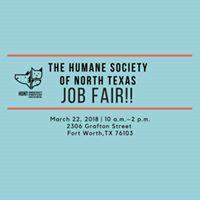 Humane Society of North Texas JOB FAIR