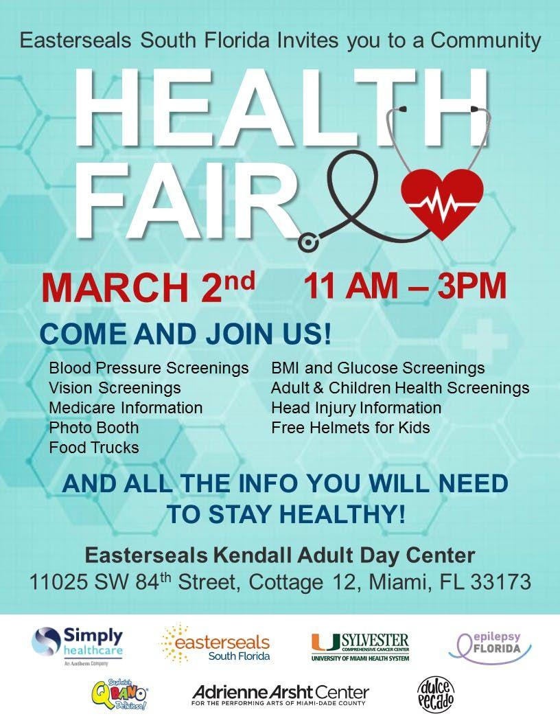 Easterseals South Florida Community Health Fair