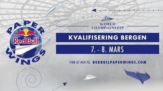 Red Bull Paper Wings 2019  Kvalifisering Bergen Norge