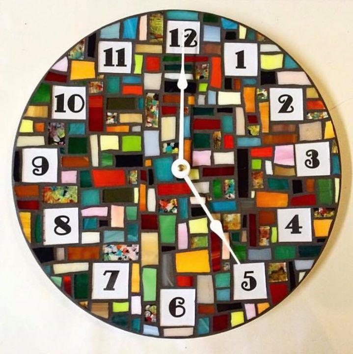 Waxahachie Wedding Venues: Mosaic Clocks