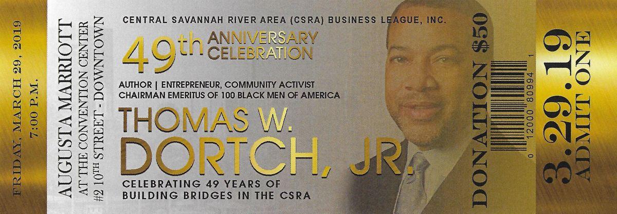 CSRA Business League 49th Anniversary Banquet
