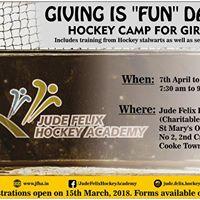JFHA Hockey Summer Camp Giving Is &quotFUN&quot Da Ver. 6.0