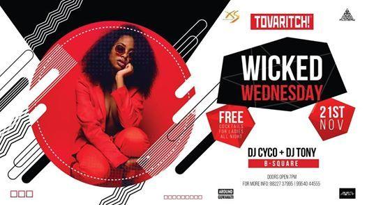 Tovaritch Wicked Wednesdays AT XS Ft. CYCO & TONY