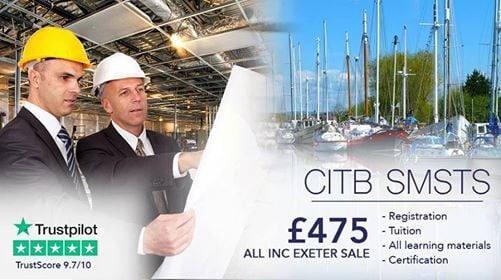 5DAY CITB SMSTS 475 All Inc Exeter Call 020-7993-5030