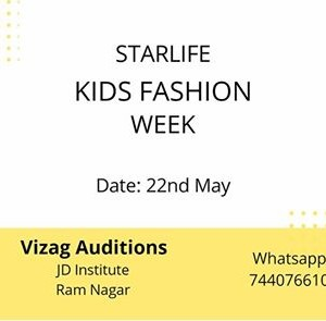 Vizag Auditions StarLife kids Fashion Week