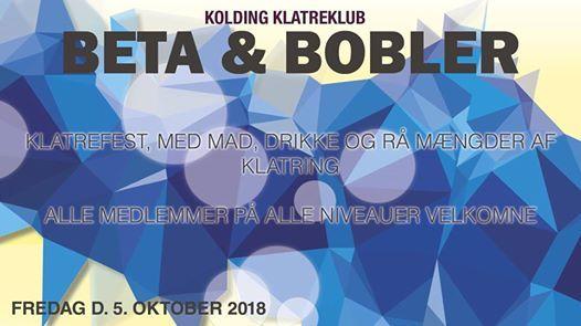 Beta og Bobler i Kolding klatreklub - (Fest)