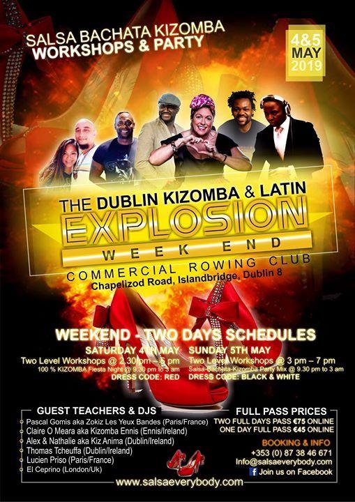 Kizomba & Latin Explosion Weekend  Dublin-Ireland