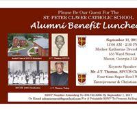 Alumni Benefit Luncheon - J.T. Thomas Keynote Speaker