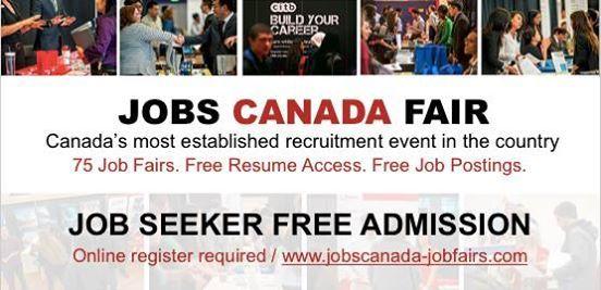 Calgary Job Fair  January 29th 2019