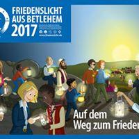 Friedenslichtfeier 2017 in Thringen