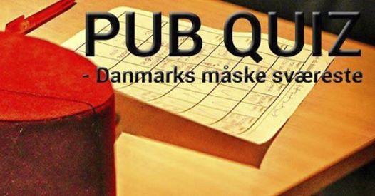 Pub Quiz - Danmarks mske svreste