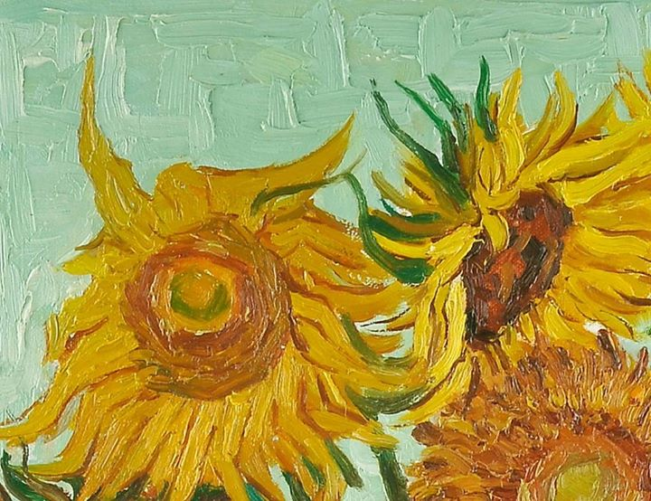 Matrimonio Girasoli Van Gogh : Laboratorio di pittura per bambini i girasoli van gogh
