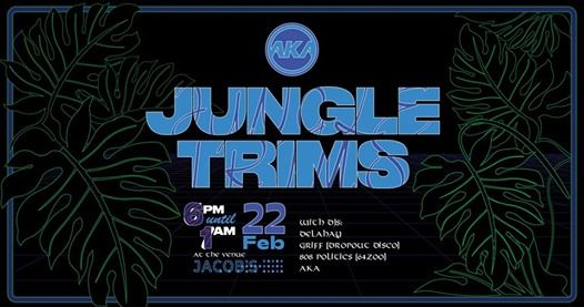 AKA x Jacobs Present Jungle Trims
