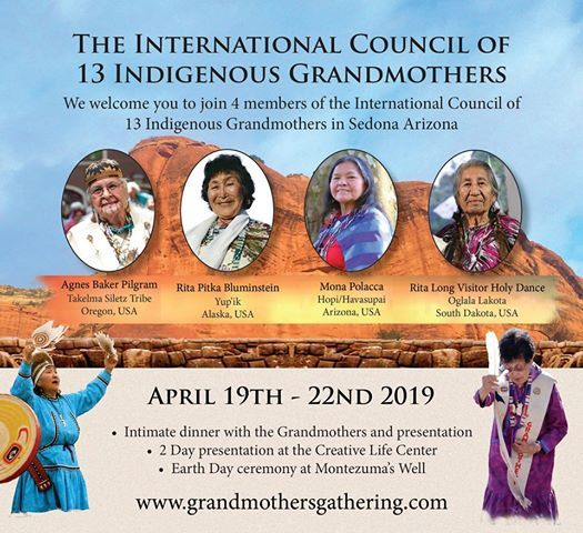 Grandmother Gathering in Sedona, Arizona at Sedona Creative Life