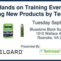 Hands on Event featuring new products by Techniseal